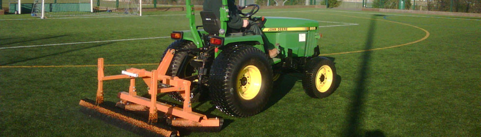 Sports field grass cutting company